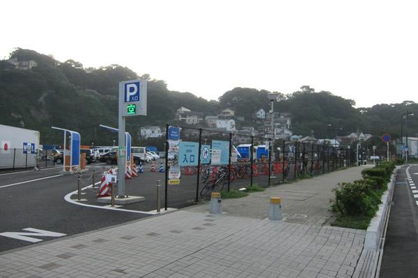 江の島かもめ駐車場